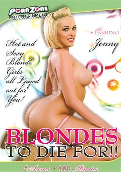 "Adult entertainment movie ""Blondes To Die For"" starring Jenny Hendrix, Tommy Gunn & Manuel Ferrara. Produced by Porn Zone Entertainment."