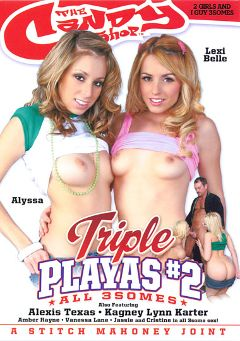 "Adult entertainment movie ""Triple Playas 2"" starring Allyssa Hall, Lexi Belle & Kagney Linn Karter. Produced by Candy Shop."