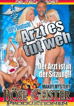 "Adult entertainment movie ""Arzt Es Tut Weh"" starring Mandy Mystery. Produced by Bose Geister Produktionen."