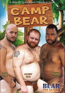 Camp Bear, starring Tony Banks, Ashby Red, Nate Wolf, Will Swallows, Fran (m) and Lobo Al, produced by Bear Films.
