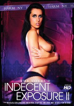 "Adult entertainment movie ""The Voyeur Indecent Exposure 2"" starring Melissa Ria, Tiffany Doll & Leona Queen. Produced by Harmony Films Ltd.."
