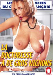 """Just Added presents the adult entertainment movie """"The Nurse Has Huge Tits - French""""."""