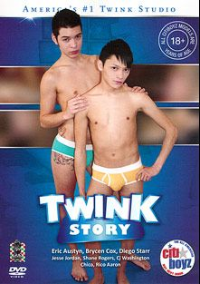Twink Story, starring Brycen Cox, Rico Aarons, Diego Starr, Shane Rogers, CJ Washington, Jesse Jordan, Chico and Eric Austin, produced by CitiBoyz.