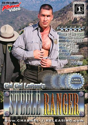 Steele Ranger, starring Haus Weston, Kyle Kennedy, Chris Steele, Christian Steele, Shane Bailey, Eric Scott, Sam Crockett, Patrick Allen, Jeremy Tucker, Doug Jeffries, Shane Rockford, T.J. Hart, Paul Carrigan and Tina Tyler, produced by Rascal Video and Channel 1 Releasing.
