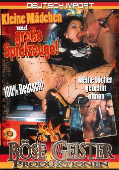 "Adult entertainment movie ""Kleine Madchen Und Grosse Spielzeuge"". Produced by Bose Geister Produktionen."