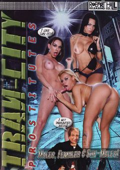 "Adult entertainment movie ""Tran-City Prostitutes"" starring Keizy Maria, Barbara Kysivics & Melissa Pitanga. Produced by Robert Hill Releasing Co.."