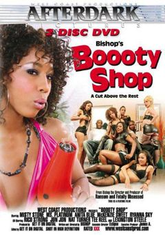 "Adult entertainment movie ""Boooty Shop"" starring Ryanna Sky, McKenzie Sweet & Ms. Platinum. Produced by West Coast Productions."