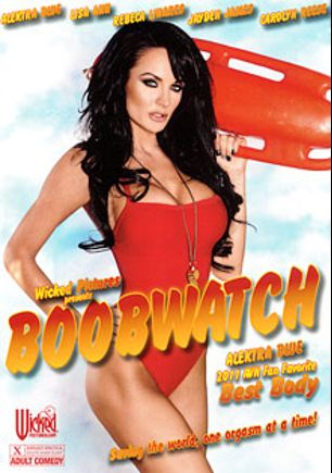Boobwatch, starring Alektra Blue, Rocco Reed, Dane Cross, Jayden Jaymes, Carolyn Reese, Rebeca Linares, Tommy Gunn, Dale DeBone, Danny Mountain, Chris Johnson and Lisa Ann, produced by Wicked Pictures.