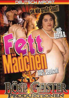 "Adult entertainment movie ""Fett Madchen"". Produced by Bose Geister Produktionen."