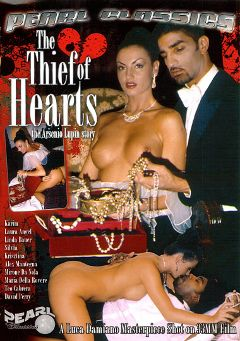 "Adult entertainment movie ""The Thief Of Hearts"" starring Laura Angel, Karim (f) & Miro Da Nola. Produced by Heatwave Entertainment."