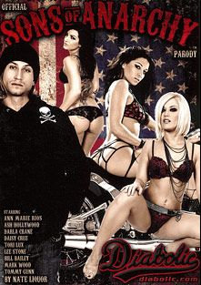 Official Sons Of Anarchy Parody, starring Ash Hollywood, Tori Lux, Ann Marie Rios, Daisy Cruz, Big Chief, Taryn, Bill Bailey, Ethan Hawk, Dynomite Dolomite, Tommy Gunn, Nicole, Darla Crane, Lee Stone and Mark Wood, produced by Diabolic Digital.