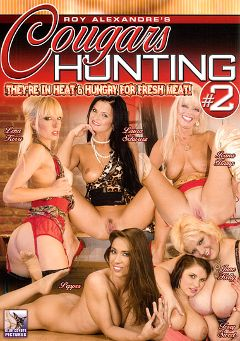 "Adult entertainment movie ""Cougars Hunting 2"" starring Laura Schwarz, Teri Sweet & Lena Cova. Produced by Blue Coyote Pictures."