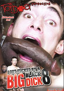 I Got Fucked By A Big Black Dick 8, starring Hot Boi, Todd, John Bridge, Gabriel Blue, Cuba Santos, Max Sanchez, J.D. Daniels and Keith Evans, produced by Top Dog Production.