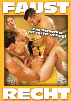 "Adult entertainment movie ""Faust Recht"". Produced by MMV Multi Media Verlag."
