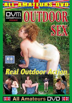 "Adult entertainment movie ""Outdoor Sex"". Produced by All-Amateurs Dvd."