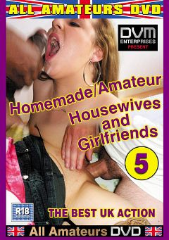 "Adult entertainment movie ""Homemade Amateur Housewives And Girlfriends 5"". Produced by All-Amateurs Dvd."