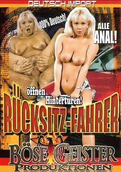 "Adult entertainment movie ""Rucksitz-Fahrer"". Produced by Bose Geister Produktionen."
