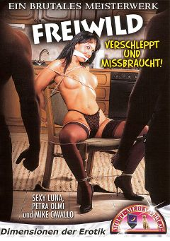 "Adult entertainment movie ""Freiwild"" starring Sexy Luna, Elisa Morganti & Petra Olmi. Produced by MMV Multi Media Verlag."