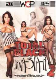 "Featured Star - Asa Akira presents the adult entertainment movie ""Total Black Invasian 2""."