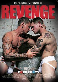 Revenge, starring Trent Diesel, Sebastian Young, Gabriel Lenfant, Phenix Saint, Skyler Caine, Bobby Clark, Jude, Tory Mason, Andrew, Robert and Alex, produced by Cockyboys.