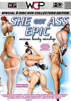 "Adult entertainment movie ""She Got Ass Epic"" starring Sophie Dee, Flower Tucci & Kami Andrews. Produced by West Coast Productions."