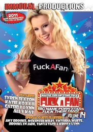 """Featured Series - Fuck A Fan  presents the adult entertainment movie """"Fuck A Fan 14""""."""