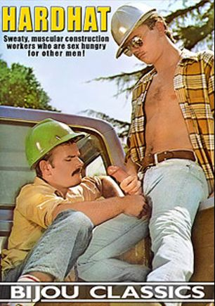 Hard Hat, starring Derek Stanton, Adam Mitchel, Rebecca Connors, David Reed, Rick Stevens, Marc Stephens, Jerr Weiman, Kip Nelson and Barry Bingham, produced by Bijou Gay Classics.