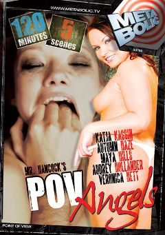 "Adult entertainment movie ""POV Angels"" starring Katja Kassin, Autumn Haze & Brock Evans. Produced by Gothic Media."