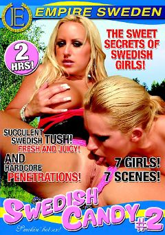 "Adult entertainment movie ""Swedish Candy 2"". Produced by Empire Sweden."