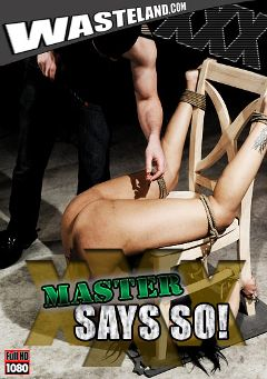"Adult entertainment movie ""Master Says So"" starring Leslie, Giselle (f) & Tony De Sergio. Produced by Wasteland Studios."