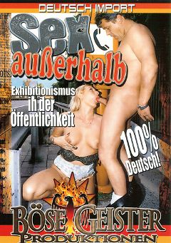 "Adult entertainment movie ""Sex Auberhalb"". Produced by Hell's Ground Production."