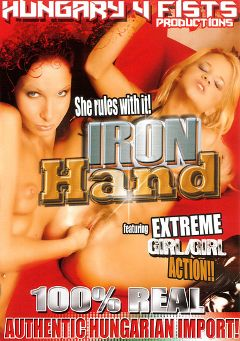 "Adult entertainment movie ""Iron Hand"". Produced by Hell's Ground Production."