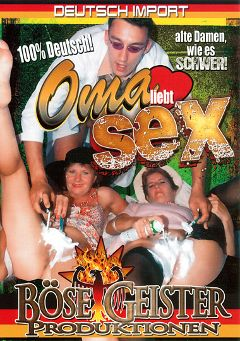 "Adult entertainment movie ""Oma Liebt Sex"". Produced by Bose Geister Produktionen."