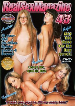 "Adult entertainment movie ""Real Sex Magazine 43"" starring Amber Sunset, Lanny Barbie & Nikki Loren. Produced by Real Sex Magazine."