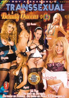"Adult entertainment movie ""Transsexual Beauty Queens 44"" starring Mizuki (o), Driely & Graziella (o). Produced by Blue Coyote Pictures."