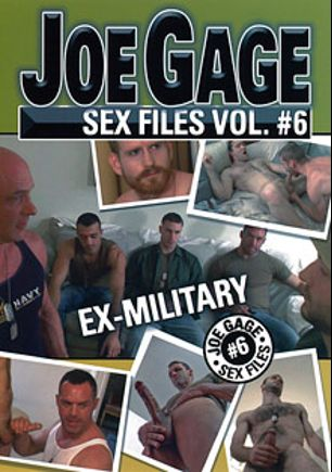 Joe Gage Sex Files 6: Ex-Military, starring Josh Gingerson, Ben Stone, Tony Bay, Luke Piersol, David Chase, Sami Damo, Colby Keller, Rodney Steele and Joe Sarge, produced by Dragon Media.