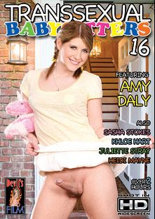 Transsexual Babysitters 16, starring Amy Daly, Sasha Stokes, Juliette Stray, Khloe Hart and Heidi Mayne, produced by Devils Film and Devil's Film.