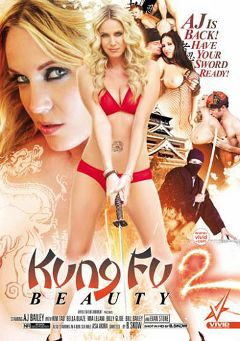 "Adult entertainment movie ""Kung Fu Beauty 2"" starring Bella Blaze, A.J. Bailey & Jerry Kovacs. Produced by Vivid Entertainment."