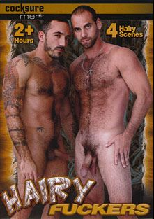 Hairy Fuckers, starring Girth Brooks, Alessio Romero, Conner Habib, Tristan Jaxx, Vinnie D'Angelo, Carlo, Nick Capra and Zach Alexander, produced by Cocksure Men and Jake Cruise Media.