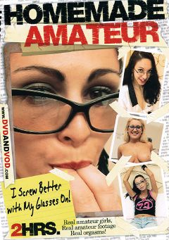 "Adult entertainment movie ""Homemade Amateur: I Screw Better With My Glasses On"". Produced by Caballero Video."