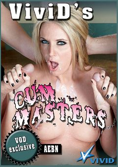 "Adult entertainment movie ""Vivid's Cum Masters"" starring A.J. Bailey, Daisy Cruz & Jerry Kovacs. Produced by Vivid Entertainment."