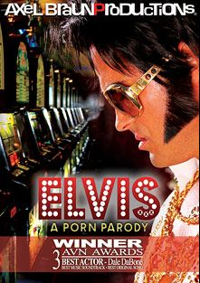 Elvis XXX: A Porn Parody, starring Asa Akira, Lee Garland, J. Jay, Jessi Palmer, Andy San Dimas, Codi Carmichael, Jessica Bangkok, James Bartholet, Lexi Belle, James Deen, Alec Knight, Tyler Knight, Dale DaBone, Ron Jeremy and Jay Ashley, produced by Axel Braun Productions.