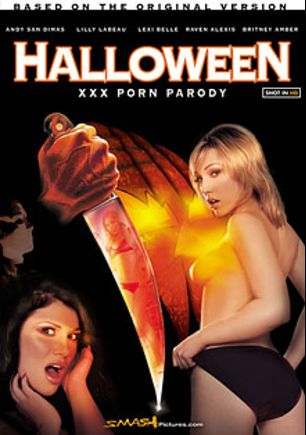 Halloween XXX Porn Parody, starring Lily Labeau, Andy San Dimas, Lexi Belle, Oregon Pita, R. Dogg, Jessy Jones, Bill Bailey, Seth Gamble, Raven Elexis, Britney Amber, Criss Strokes, Heidi Mayne, Marcus London, Jim Powers, Adam Wood and Kyle Stone, produced by Smash Pictures.
