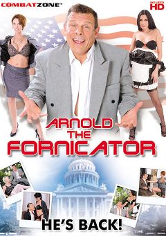 "Adult entertainment movie ""Arnold The Fornicator"" starring Destiny Porter, Nora Skyy & Nikki Daniels. Produced by Combat Zone."