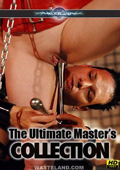 "Adult entertainment movie ""The Ultimate Master's Collection"" starring Cheri, Master Johnny & Eric X. Produced by Wasteland Studios."