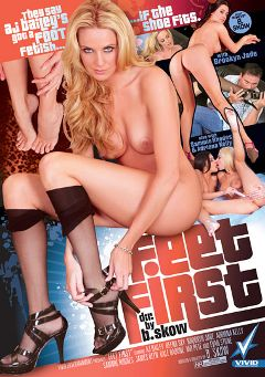 "Adult entertainment movie ""Feet First"" starring Adriana Kelly, Brooklyn Jade & A.J. Bailey. Produced by Vivid Entertainment."