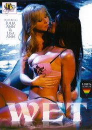 "Featured Star - Bridgette B. presents the adult entertainment movie ""Wet""."