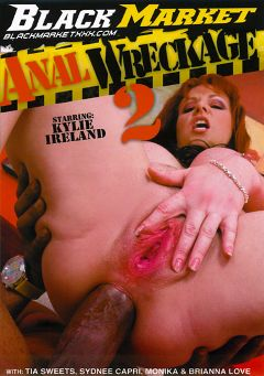 "Adult entertainment movie ""Anal Wreckage 2"" starring Kylie Ireland, D-Snoop & Shorty Mac. Produced by Black Market Entertainment."