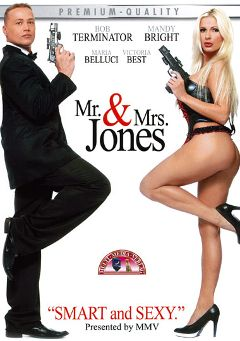 "Adult entertainment movie ""Mr. And Mrs. Jones"" starring Mandy Bright, Victoria Best & Jola. Produced by MMV Multi Media Verlag."