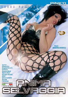 "Adult entertainment movie ""Anima Selvaggio"" starring Alexandra, Omar Galente & Giogio Grandi. Produced by Pinko Enterprises."